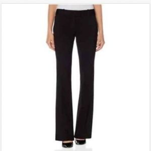 size 6 The Limited ponte black flare pants